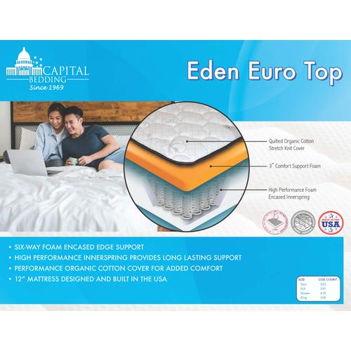 Eden Euro Top Mattress