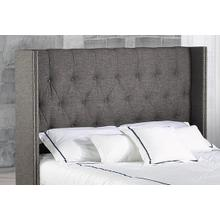 King Grey Headboard
