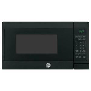GE 0.7CF Black Countertop Microwave