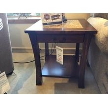 End Table with Cambria Insert