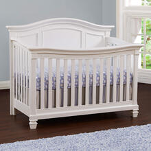 Glendale 4 in 1 Convertible Crib Pure White