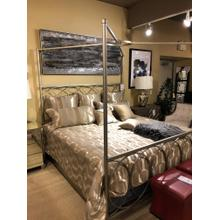See Details - KING SIZE METAL BED - NOW 50% OFF
