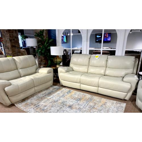 Andros Cloud Leather Power Sofa & Loveseat