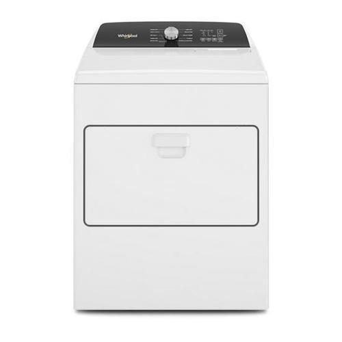 Whirlpool - Whirlpool 7.0-cu ft Electric Dryer with Moisture Sensing