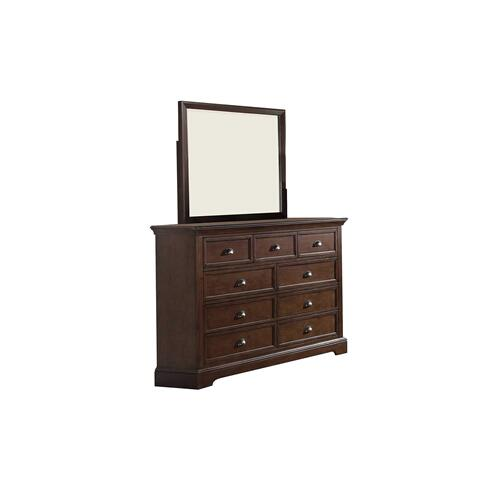 9-Drawer Dresser, Hazelnut