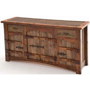Heritage Laramie 2 Drawer 4 Door Sideboard