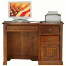 "Poplar 32"" Single Pedestal Desk"