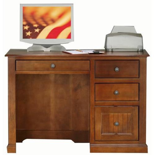 "American Heartland Manufacturing - Poplar 32"" Single Pedestal Desk"