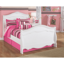 See Details - Exquisite- White- Full Sleigh Bed