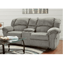RECLINING CONSOLE LOVESEAT in ALLURE GREY    (1020,29005)