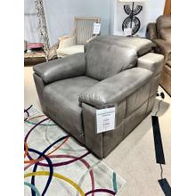 See Details - Georgia Ash Leather Full Power Recliner