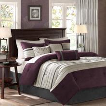 See Details - Palmer 7 piece Comforter Set - Queen