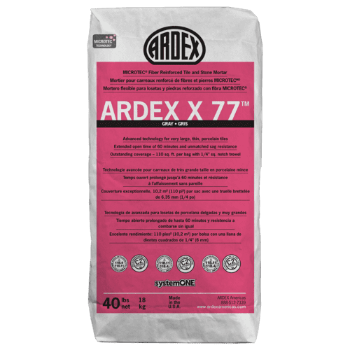 Ardex - ARDEX X77-40LBS-WHITE
