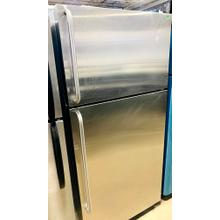 Product Image - USED- GE® 14.6 Cu. Ft. Top-Freezer Refrigerator- TMSS28-U  SERIAL #25 **SIDE PANELS ARE WHITE**