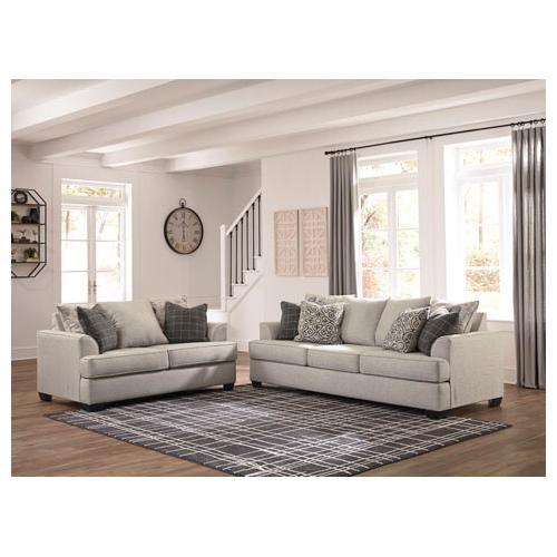 - Velletri Sofa and Loveseat Set
