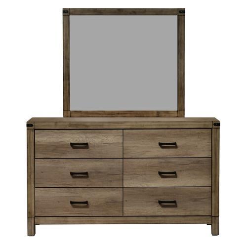 Crown Mark - Matteo Dresser and Mirror Set