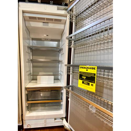 Miele F2801Vi - MasterCool™ freezer For high-end design and technology on a large scale.