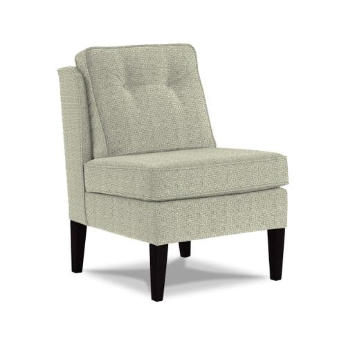 Blayr Accent Chair in Sandstone Fabric