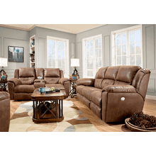 Power Headrest Loveseat w/ Console
