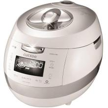 CUCKOO IH 2.0 Pressure RICE COOKER l CRP-BHSS0609F White/Silver (6 Cup)