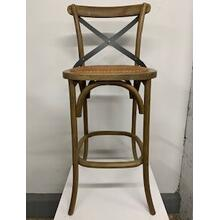 """Bentwood"" Non-Swivel Bar Stool"