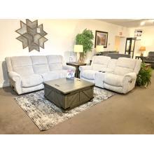 Best Home Furnishings- Terrill Nonpower Sofa & Power Rocker Console Loveseat