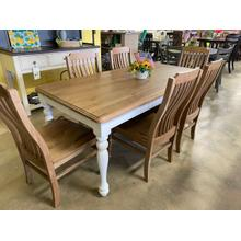 7 Piece Solid Wood Dining Set by Erin and Ben Napier
