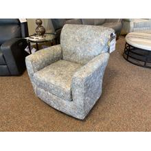Kaylee Swivel Glider - Lake / Floral Pattern