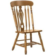 See Details - Colonial Key Hole Side Chair