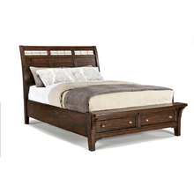 Hayden King/Cal-King Storage Footboard Bed