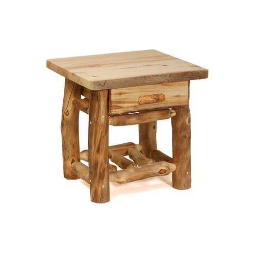 House Lodge Collection - Aspen 1 Drawer Nightstand