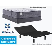 SEALY Evident Queen Mattress & REVERIE Adjustable Base   **Colorado Exclusive**