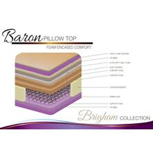 Baron Pillow Top Foam Encased Comfort