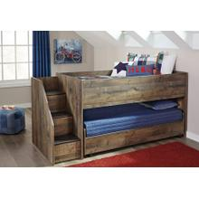 Trinell Staircase Trundle Bed (Twin over Twin)