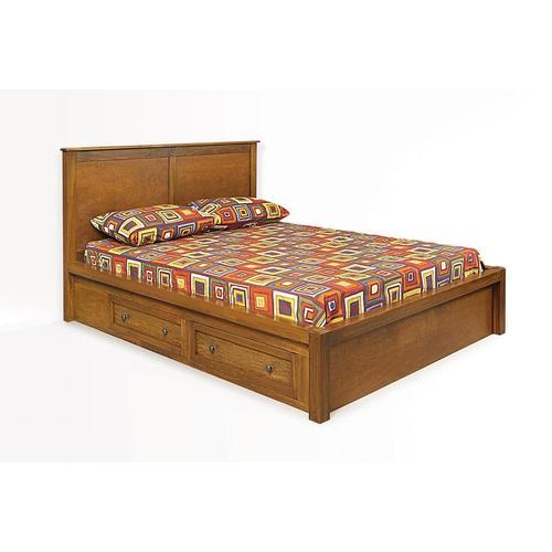 Witmer Furniture - Taylor J Storage Bed in Poplar #33