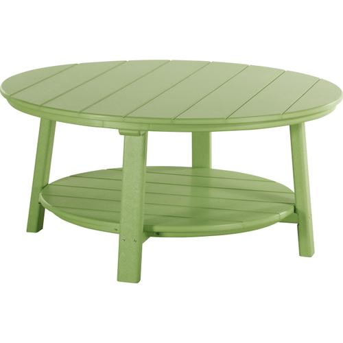 Deluxe Conversation Table Lime Green
