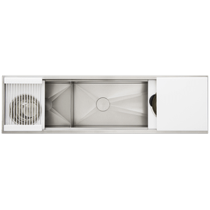 The Galley Workstation - Ideal Workstation 6 Double Bowl