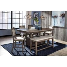 See Details - Johurst 6 Piece Counter Height Dining Set