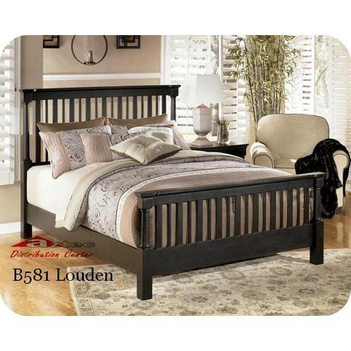 Ashley Furniture - Ashley B581 Louden Bedroom set Houston Texas USA Aztec Furniture