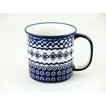 Diamond Lattice Straight Mug