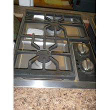 """See Details - 15"""" Gas Cooktop in Stainless Steel"""
