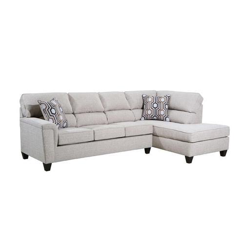 UNITED 2015LAFRAF Dante Almond Sofa Chaise