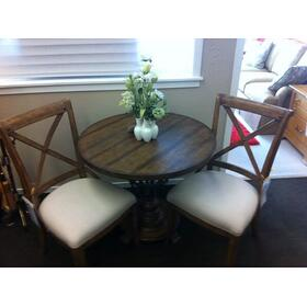 Provencal Gardens Table and 2 Side Chairs
