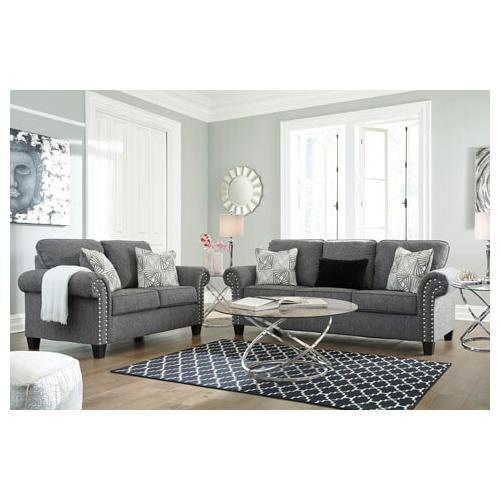 - Agleno Sofa and Loveseat Set