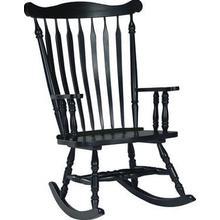 Parawood Williamsburg Rocker - Antique Black