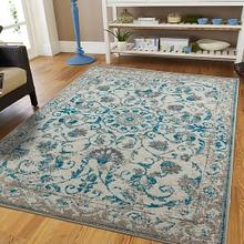 View Product - Persian Distressed Rug 5 x 7