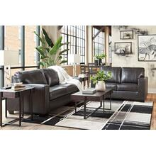 Morelos Genuine Leather Sofa and Loveseat