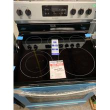 30 in. 5.3 cu. ft. Electric Range with Self-Cleaning Oven in Stainless Steel **OPEN BOX ITEM** Ankeny Location