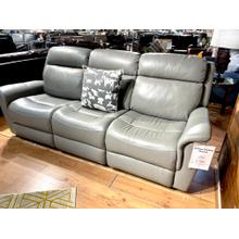 See Details - Full Power Leather Reclining Sofa