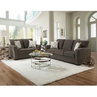 See Details - 1210 Surge Gunmetal Sofa and Loveseat